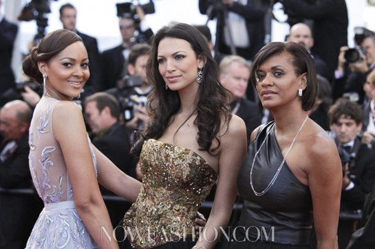 Menaye Donkor Dazzles at the Cannes Film Festival 2012