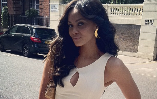 Ghanaglam.com – Menaye Donkor Out & About in London Town